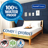 ★PREMIUM COVER★Waterproof/Anti-Dust-Mite Mattress Protector/Latex Protector★BEDSHEET★Pillow Cover★Zipper