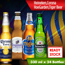 [Alliance Beer Rogue] Heineken Case Beer / Corona / HoeGarden / Tiger Beer [330 ml x 24 Bottles] for This Festive Seasons Local Ready Stocks. Best Price Now for This Chinese New Year