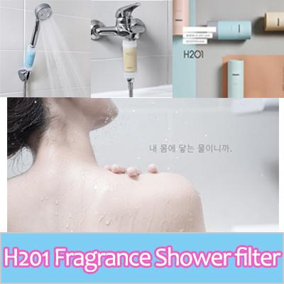 qoo10 h201 fragrance vitiamine shower filter happy shower happy day shower household. Black Bedroom Furniture Sets. Home Design Ideas