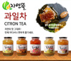 ♥6Type♥ In Singpore★ Korean Honey Cirton Tea★1kg Big Size/Korean Food/Korean Drink/Korean Tea/