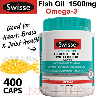 Qoo10 new from australia swisse ultiboost odourless for Oily fish list