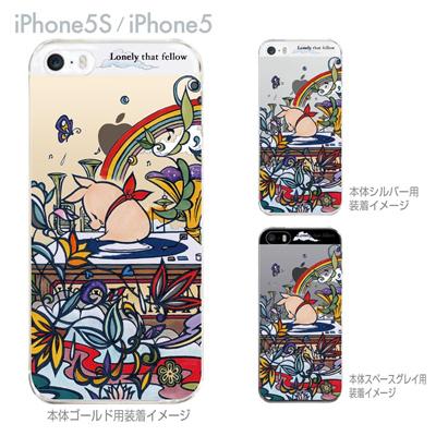 【SWEET ROCK TOWN】【iPhone5S】【iPhone5】【iPhone5sケース】【iPhone5ケース】【カバー】【スマホケース】【クリアケース】【イラスト】 46-ip5s-sh0025の画像