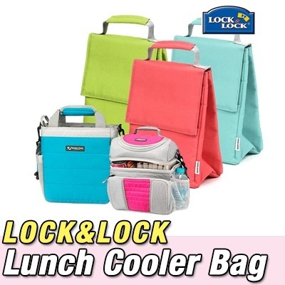 ★Lock n Lock Mini Lunch Cooler Bag★ camping picnic Portable ice box ice lunch organizer travelの画像