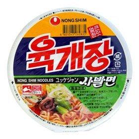 【韓国食品・韓国ラーメン】 ■韓国のユッケジャンカップ麺(辛さ1)■の画像
