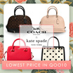 [COACH X KATE SPADE] •• Bag and Wallet Collections!! ••  100% Authentic ••