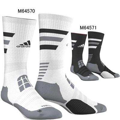 アディダス (adidas) BASKET ID クルーソックス MHX40 [分類:バスケットボール ソックス メンズ・ユニセックス]の画像