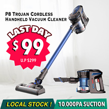 【Introductory Offer】 Trojan P8 10000Pa | Cordless Handheld Vacuum