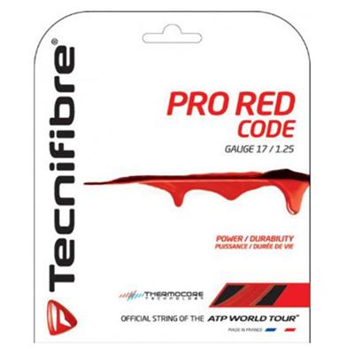 ブリヂストン (BRIDGESTONE) プロ レッド コード(ゲージ1.30mm)12m TFG502 [分類:テニス テニスガット]の画像