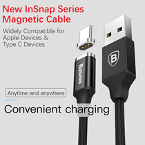 Baseus Magnetic Charging Cable for ★Lightning/Type C★Quick Charge Wall Charger★Apple/Samsung/Android