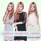 [SG] Fast shipping/Korean style /Loose fit/ Premium chiffon dress/ party/ dinner/ work/ office/