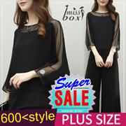 【SUPER SALE】600+ style S-7XL NEW PLUS SIZE FASHION LADY DRESS OL BLOUSE PANTS  TOP