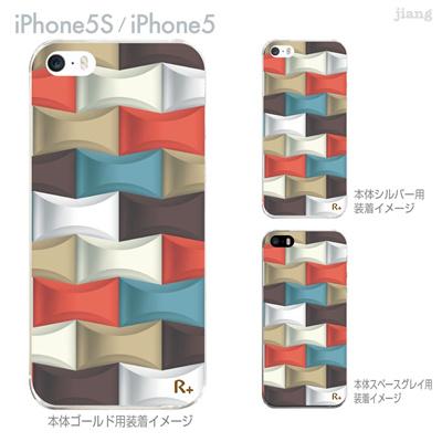【iPhone5S】【iPhone5】【iPhone5ケース】【カバー】【スマホケース】【クリアケース】【チェック・ボーダー・ドット】【レトロ柄】 06-ip5s-ca0098の画像