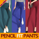 ★[Price Going Up Soon!] Get 10% OFF for Every $10 Purchase★ ★Classic Skinny Pants 2 Types★ M~XL Napping Type/Normal Type / Elastic Spandex Skinny Pants/Plus size/ Comfortable Women Nappint Skinny Pant