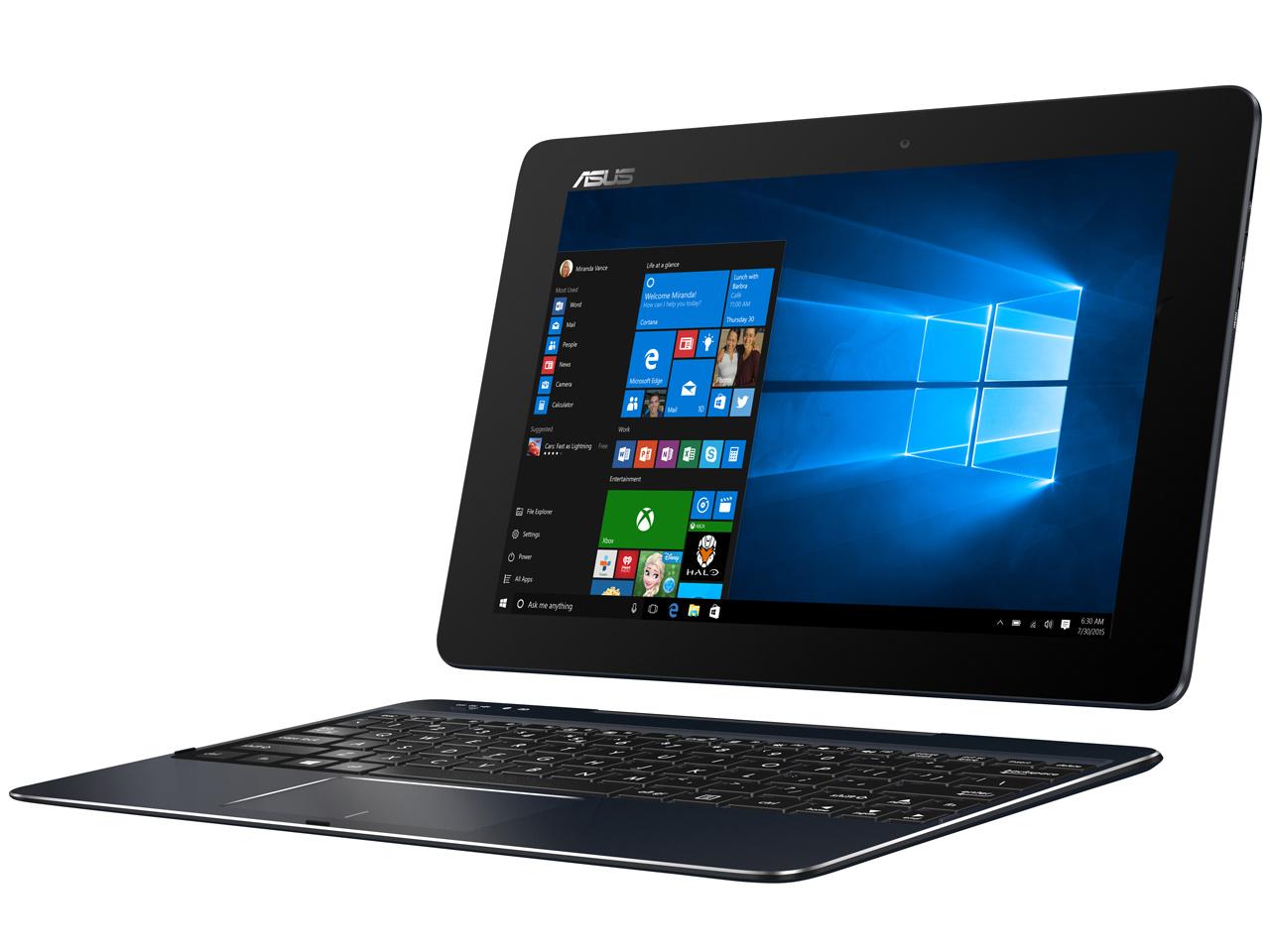 【クリックで詳細表示】[ASUS]ASUS TransBook T100Chi T100CHI-Z3795 4GBメモリー搭載の10.1型2in1ノートPC