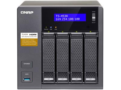 [新品]QNAPTS-453A-4Gビジネス用NAS(4ベイ・タワー型)[即納可]