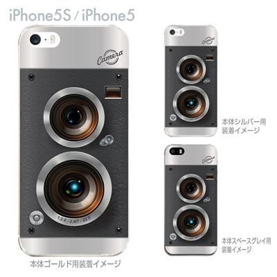 【iPhone5S】【iPhone5】【iPhone5sケース】【iPhone5ケース】【カバー】【スマホケース】【クリアケース】【クリアーアーツ】【カメラ】 06-ip5s-ca0132の画像