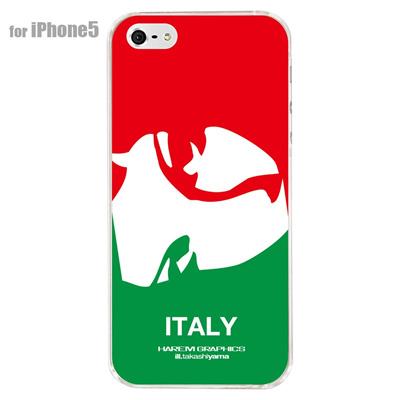 【iPhone5S】【iPhone5】【HAREM graphics】【iPhone5ケース】【カバー】【スマホケース】【クリアケース】 HGX-IP5C-015Iの画像