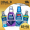 [PG] 【FREE Delivery in 2hrs 】 ORAL B PRO Health Mouthrinse MIX n MATCH of 3L at $9.90 ONLY!