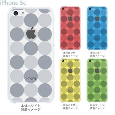 【iPhone5cケース】【iPhone5cカバー】【スマホケース】【クリアケース】【クリア】【チェック・ボーダー・ドット】【トランスペアレンツ】【サークル】 06-ip5c-ca0021cの画像