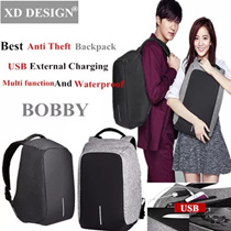 XD DESIGN▶Best Anti Theft backpack▶USB backpack▶Travelling Backpack ▶Security▶Multi function▶ Anti Cut▶ waterproof