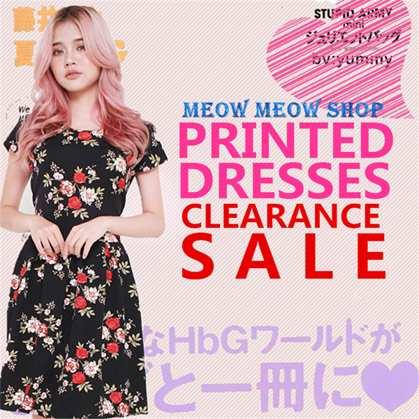 [PRINTED DRESS] PLUS SIZES/ PREMIUM / FORMAL/ OFFICE/ DINNER/ WORK Deals for only S$49.9 instead of S$0