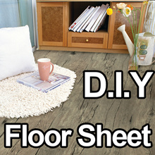 Floor reform Sheet-Self Adhesive Wallpaper home decoration living DIY  furniture sofa kitchen mat