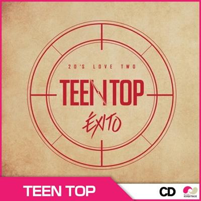 ティンタプ(TEEN TOP) -  TOP 20S LOVE TWO EXITO(リパッケージアルバム) ◆ ランダムフォトカード1枚の画像