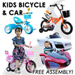♥♥ Kids bicycle ♥/ 4 wheels bike/ outdoor/ toddler/ Tricycle /children/ baby /tricycle/ 3 wheeler/