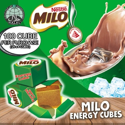100 cube NESTLE MILO ENERGY CUBE Deals for only S$12 instead of S$0