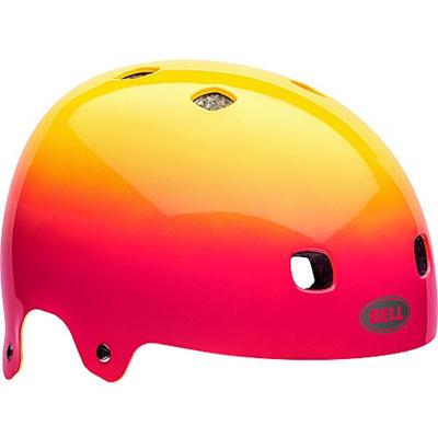 ベル(BELL) ヘルメット SEGMENT / セグメント Jr KIDS&YOUTH ピンク/イエローコメット 【自転車 サイクル キッズ 安全 子供】の画像