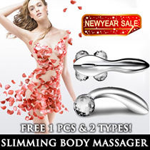 ◣KOREA HOT SELL◥  Slimming Body 3D/4D Massager ♥ Lifting ♥ Firming ♥ Shape V-Line ♥ Y Slimming Massage Stick ♥ Facial and Body V Roller* Active Muscle Massager ♥ Similar to Tokyu Hands