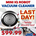 [GSS SPECIAL] 3 in 1: JNC IQ Robot Vacuum Cleaner. VACUUMS. SWEEPS. MOPS. Singapore-based. Quality Assured.