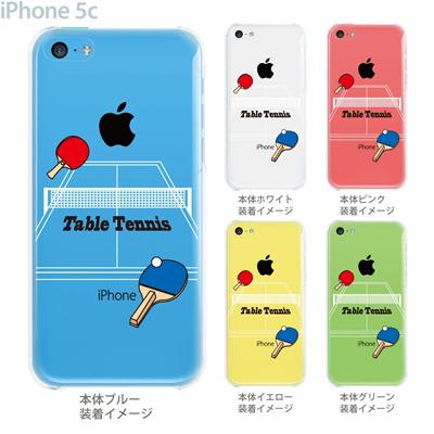 【iPhone5c】【iPhone5c ケース】【iPhone5c カバー】【ケース】【カバー】【スマホケース】【クリアケース】【クリアーアーツ】【卓球】 10-ip5c-ca0064の画像