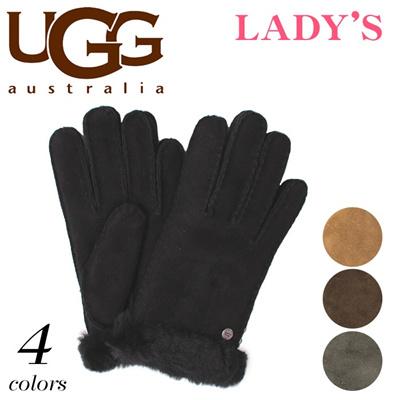 アグ オーストラリア クラシック カーター グローブ シープスキン UGG U1719 手袋 レディースの画像