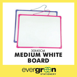 Medium White Board 30x40cm