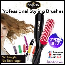 Authorized distributor! [AWARD WINNING] DENMAN D3 Styling Brush- The Hairdressers Hairbrush - No Tangle and Breakage ! Reduce Hair Loss! Made In UK ❤NEW BRUSHES ADDED!!❤