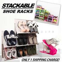 ◣STORAGE◥ ★STACKABLE SHOE RACKS/CABINETS ★DIY ★Shoes/Slippers/Magazines ★Elegant ★Plastic ★Fast Delivery