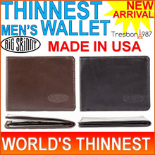 ★GSS USA Wallet for Men World's Thinnest Card Holder Genuine Leather Korean Slim Thin Long Travel Weave Gift Passport Mens Man Coin Zip Money Clip Business Name Credit Key Pouch Case Bag Belt Ties