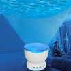 Romantic Sleep Blue Ocean Daren Waves LED Night Light Projector Music Light Projection Bedroom Lamp