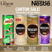 [NESTLE][MILO][Milo Cans/Nescafe Mocha/Nescafe Original /Nescafe Latte] READY TO DRINK 240MLx24