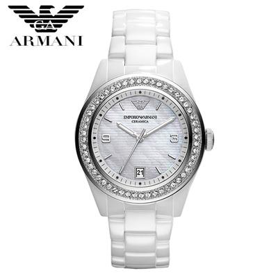 【クリックで詳細表示】EMPORIO ARMANI エンポリオ アルマーニ AR1426 腕時計 レディースwatch セラミック ホワイト メンズ ユニセックス 新品 超特価 時計 送料無料 正規輸入品