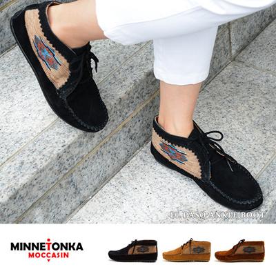 ミネトンカ Minnetonka ミネトンカ ブーツ アンクル エルパソ MINNETONKAの画像