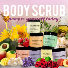 Salt And Sugar Body Scrub | Handmade with love♥ | Shower Scrub♥ | Cream Scrub | Shea Butter | Mango Butter | Rejuvenate and Unclog your skin!! ♥