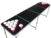 [THE PONG SQUAD] Blank Beer Pong Table with Holes