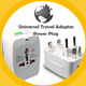 Universal Travel Adapter / AC power Adapter / AU UK US EU Plug / Universal Power Plug / power adaptor / USB Charger /  - As Seen on TV