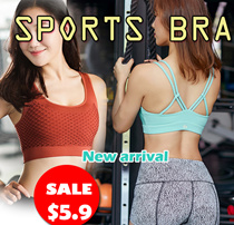 【New Arrival】SPORTS BRA Gym Running Bra Premium Ladies Wireless bra/yoga bra/sleeping