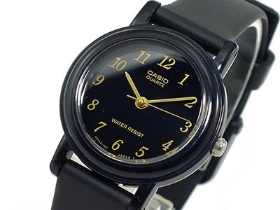 カシオ CASIO クオーツ 腕時計 レディース LQ139AMV-1L ブラックの画像