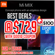 Mi Mix Concept Phone Enjoy Version (Export) Black - 6GB + 256GB