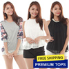 ♥ PREMIUM TOPS ♥ New Arrivals Quality Blouses Shirts Casual Business Office Korean Sleeveless Dresses Tees Cardigans Jackets Skirts Shorts Pants Plus