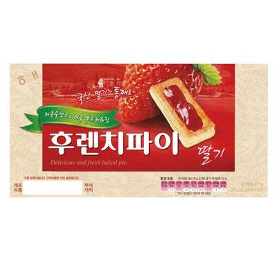 『ヘテ』フレンチパイ・イチゴ味(192g)br[韓国お菓子][韓国食品]の画像